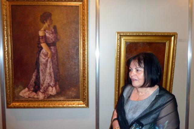portretul mamei lui Geo Zlotescu si I.L.Florea