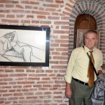 Constantin PILIUTA si colectionarul Victor ADAM