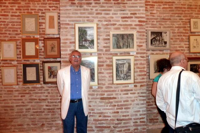 colectionarul Alexandru Marculescu si tablouri de Dan Constantinescu
