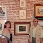 Tablouri de Mircea CIOBANU si vaduva artistului Michaela CIOBANU